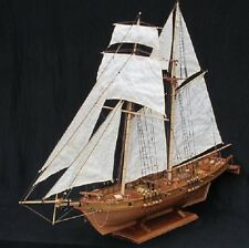Scale 1/96 Laser-cut Wooden sailboat Model kit: The HARVEY 1847 ship model