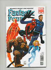 Fantastic Four #600 - John Romita Jr Variant 50th Anniversary - (Grade 9.2) 2012
