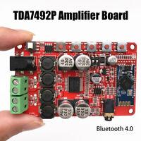 TDA7492P 2x50W Wireless Bluetooth 4.0 Audio Amplifier Receiver Board DC 12V-24V