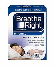 Breathe Right Nasal Strips Original Tan Small/Medium 30 Each