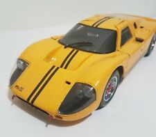 NEW 1967 Exoto Ford GT40 MK IV Yellow 1/18 Scale Diecast