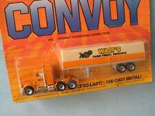 Matchbox Convoy Peterbilt Truck and Trailer Walts Farm Farming Produce in BP Toy