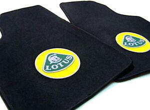 Black velours carpet set for Lotus Elite 1974-1980 3colors