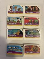 Vtech Mobigo Lot of 6 Games - Toy Story 3, Mickey Mouse, Monsters, Scooby & More