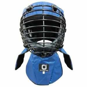 Kali Arnis Escrima Head Gear Protector for Live Sticks Training Sparring Blue