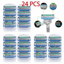 24 Pcs Men's Replacement Blades Shaver Razor Blades For Gillette Fusion ProGlide