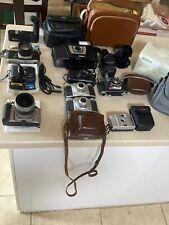 Vintage Camera Lot Nikon, Fotron, Canon, Retina, AGFA, MD-12, Lenses, & Cases