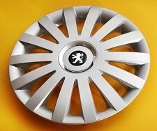 "15"" PEUGEOT 206,306,605,Partner,.. WHEEL TRIMS/COVERS HUB CAPS,Quantity 4"