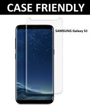 100%25 Genuine Tempered Glass Screen Protector Film For Samsung Galaxy S8 - Clear