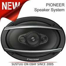 """Pioneer 4-Way Coaxial Car Speakers│6"""" x 9"""" Sound System│450W Max Power│TS A6960F"""