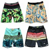 2020 QUIKSILVER BOY'S Board Shorts Swim Trunk SIZE - 10, 12, 14, 16, 18, 20 🎈