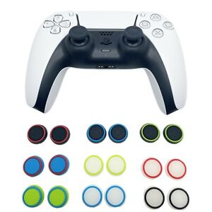 2 x EGP™ Grips Thumb Stick Cover Grip Caps For Sony PS5 Playstation 5 Controlle
