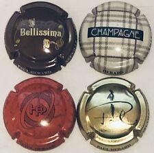 Champagne HERARD PAUL n° 13,14,15,16 - 4 capsules référencées