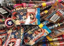 (40) Wholesale Marvel Disney Lip Smacker Lip Balms w/ Keychains 10 Of Each Kind