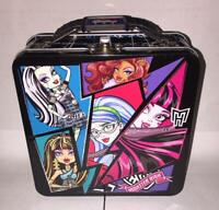 Monster High Favor Box Lunchbox Metal Tin