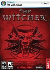 Video Game PC The Witcher role playing game English French NEW SEALED BOX
