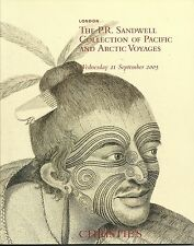 CHRISTIE'S Pacific Arctic Voyages Sandwell Collection Auction Catalog 2005