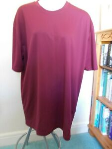 NEOTERIC MENS SIZE XXL MAROON T-SHIRT NWT