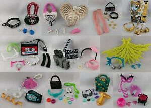 Monster High Accessoires & Zubehör Shop - Basic Schmuck Ohrringe Kette Tasche