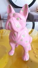 LOUIS VUITTON pink fashion bulldog pop art sculpture-limited edition 2/10.