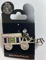 Disneyland The Haunted Mansion Silver Hearse Disney Collectible Pin