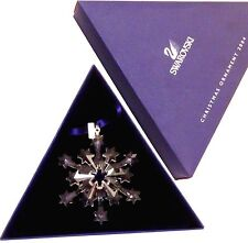 Swarovski 2004 Christmas Star / Snowflake - Mint, with box