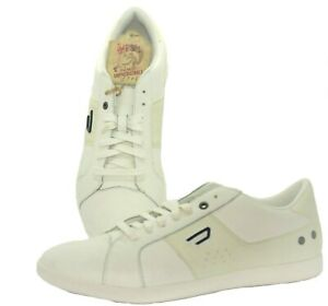 DIESEL Y00985 P0613 T1003 GOTCHA Mn's (M) White/Cream Leather Casual Shoes