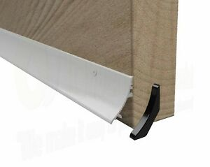 White Door Rain Water Weather Deflector Bar Board UPVC timber weatherbar guard