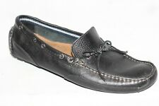 Clarks Black Leather Driving Moccasin Loafers Men Shoes 10.5 M