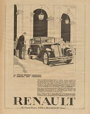 J0647 Automobile RENAULT Stella - Pubblicità d'epoca - 1929 Old advertising