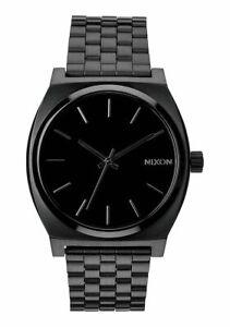 Nixon Orologio uomo donna acciaio Time Teller all black quarzo