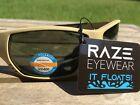 RAZE Eyewear Sunglasses Sonar floating polarized fishing Tan Green Lens 28351