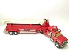 Nylint Toys Aerial Hook-N-Ladder Fire Truck Pressed Steel Good Shape From 1980s