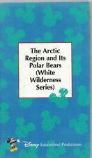 Disney Educational The Arctic Region & Its Polar Bears VHS White Wilderness Ser