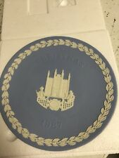 Wedgwood 1987 Christmas Plate Guildhall London Vintage
