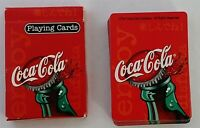 Coca Cola Bicycle Playing Cards Open Good Condition