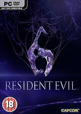 Resident Evil 6 (PC-DVD) BRAND NEW SEALED