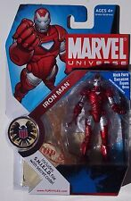 MARVEL UNIVERSE. IRON MAN. FURY FILES MINI ACTION FIGURE. S.H.I.E.L.D NO. 33 NOC