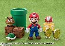 Bandai S.H.Figuarts SHF Mario + Diorama Play Set A + Diorama Play Set B