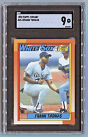1990 Topps Tiffany *FRANK THOMAS* Rookie Card (RC) SGC 9 Mint ~Well-Centered~