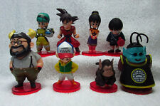 ANIME Dragon Ball Z 8 pcs FIGURES SET GOKU GOHAN ChiChi OX King Kai KID TOY GIFT