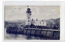 (Sa659-100) Scarborough Lighthouse ,c1910 ,used ,VG