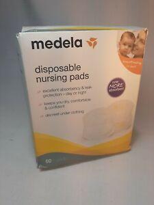 Medela Super Absorbent Disposable Nursing Pads - 60ct Leak Protection K3