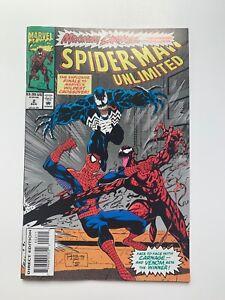 Spider-Man Unlimited #2 - Maximum Carnage Conclusion! (Marvel Comics,1993) VF+