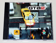 GTA 2-PC CD ROM jewel case-Grand Theft Auto II-clásico-Top estado