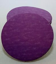"Sanding Discs - 3"" diameter, 4 pkgs of 25 each: 60, 120, 240, 400 grits"