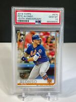 PETE ALONSO 2019 TOPPS Series 2 #475 150th  GOLD STAMP PSA 10 GEM Mint Rookie