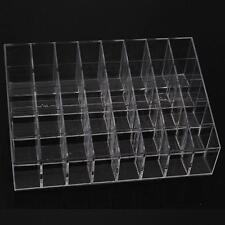 Clear 40 Lipstick Holder Display Stand Cosmetic Organizer Makeup Case Acrylic G