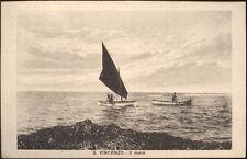 cartolina S.VINCENZO il mare