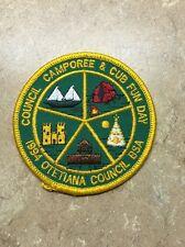 VINTAGE 1994 OTETIANA COUNCIL BSA COUNCIL CAMPOREE & CUB FUN DAY PATCH